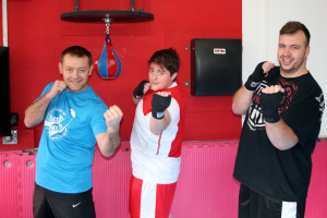 Dave & Leanne take on the 'Fight Yourself FIT' workout!