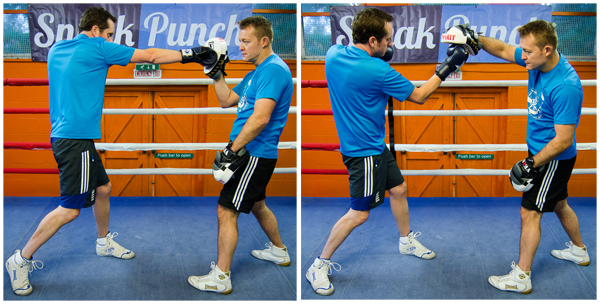 Shoulder Roll - Cross-uppercut