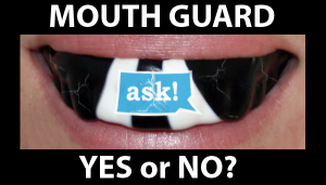 Should I wear a mouth guard / gum-shield for sparring? – Your Boxing Questions!