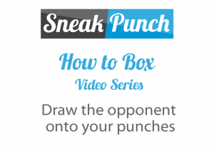 Draw the opponent onto your punches – How to Box (Quick Videos)