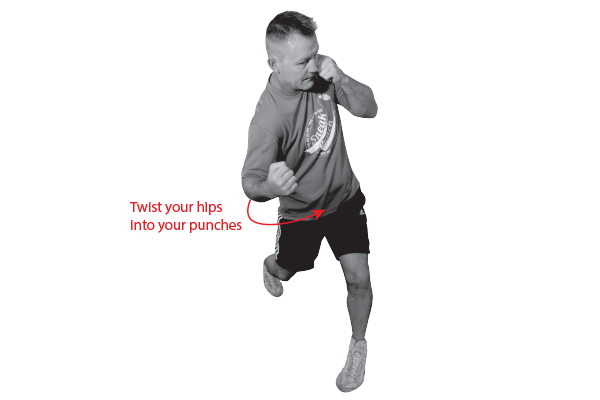 Increase Your Punching Power - by twisting your hips into your punches