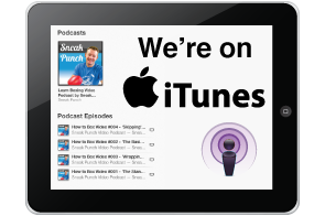 We're on ITUNES